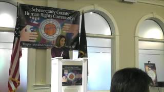 Schenectady Human Rights Commission Awards Breakfast 2017 with Host JoDee Kenney