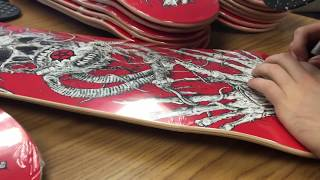 Arch Enemy - Exclusive, limited skateboard deck now available!