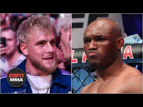 Kamaru Usman took Jake Pauls antics personally  ESPN MMA