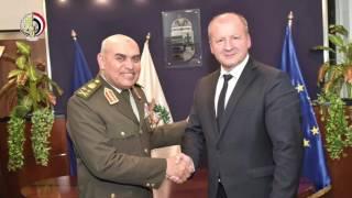 وزير الدفاع يعقد مباحثات عسكرية مع نظيره المجري..فيديو