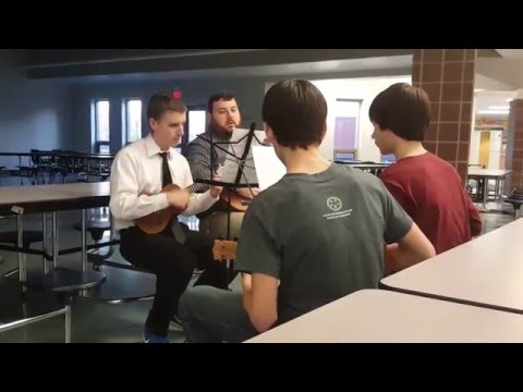 Ukulele Class Practice- Wright City Middle School