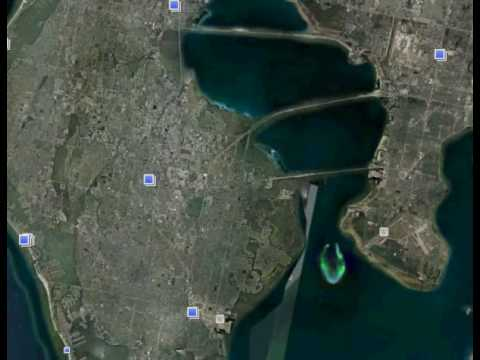 Google Earth Strange Thing In Tampa Bay Youtube