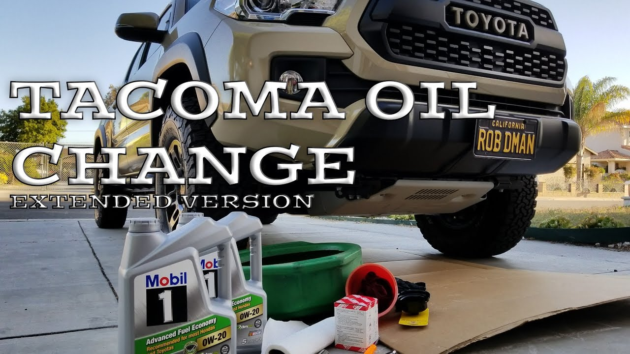 how to diy oil filter change on 2016 2017 2018 toyota tacoma 35