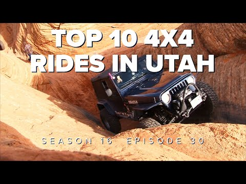 Top 10 4x4 Trails in Utah - Little Sahara - Jeep Prototypes - Hiking Antelope Island
