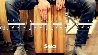Cajon Lesson: Finger Flam Samba (My Favourite Groove Of 2017)