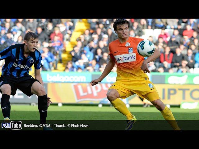 2013-2014 - Jupiler Pro League - 12. Club Brugge - Racing Genk 0-2
