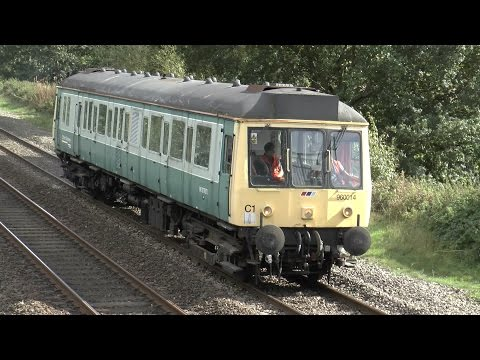"""DMU Bubble Car 960014 ex 55022""  Aylesbury to Tyseley"