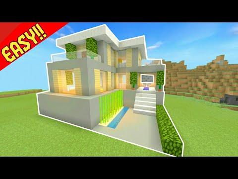 530+ Ide Desain Rumah Modern Di Minecraft Terbaik Download Gratis