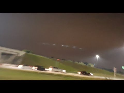 Huge UFO as Big as 3 Football Fields Spotted in Florida