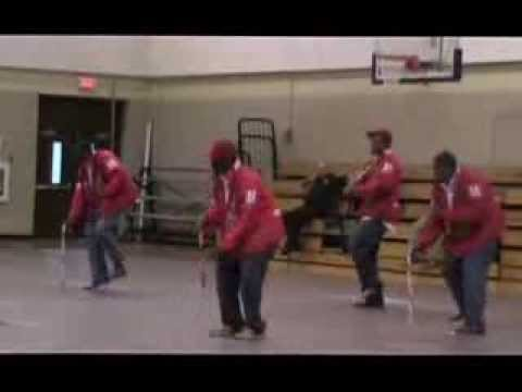 Kappa Alpha Psi Inc step at Natchitoches Central High school