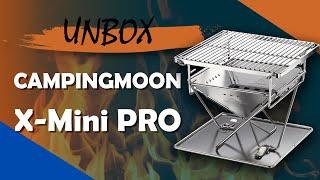 [Unbox] Bếp Nướng Dã Ngoại Siêu Nhỏ Gọn Campingmoon X-Mini Pro - Chuyentactical.com