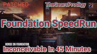 Foundation SpeedRun ~ Gears of War 4 ~ Horde Glitch