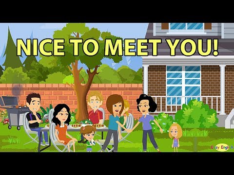 Nice To Meet You How To Introduce People In English Youtube