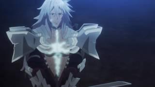 Fate Apocrypha - Intro fight scene - Saber of Red vs Saber of Black