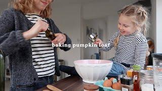 Baking Pumpkin Loaf   Rhiannon Ashlee Vlogs