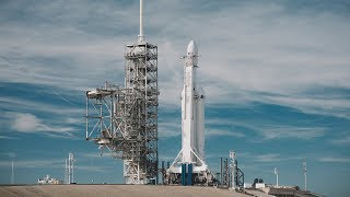 TechCrunch at SpaceX Falcon Heavy Launch