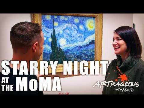 Vincent Van Gogh's Starry Night at the MoMA