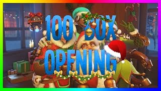 Overwatch | 100 BOX OPENING SPECIAL NOËL