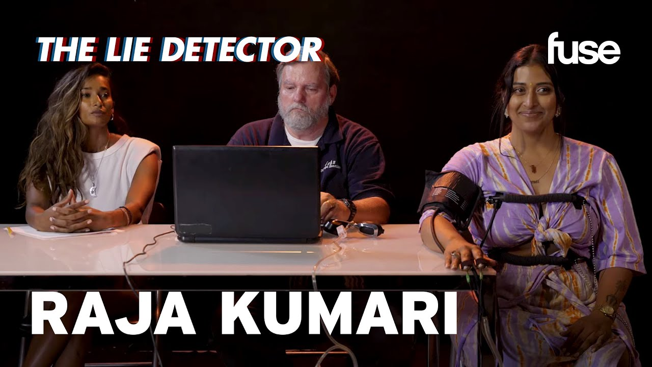 Raja Kumari & Her Best Friend Take A Lie Detector Test: Has She Ever Ate Beef? | Fuse