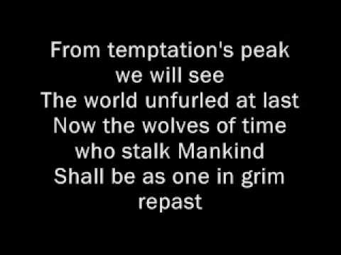 lustmord and wargasm with onsreen lyrics
