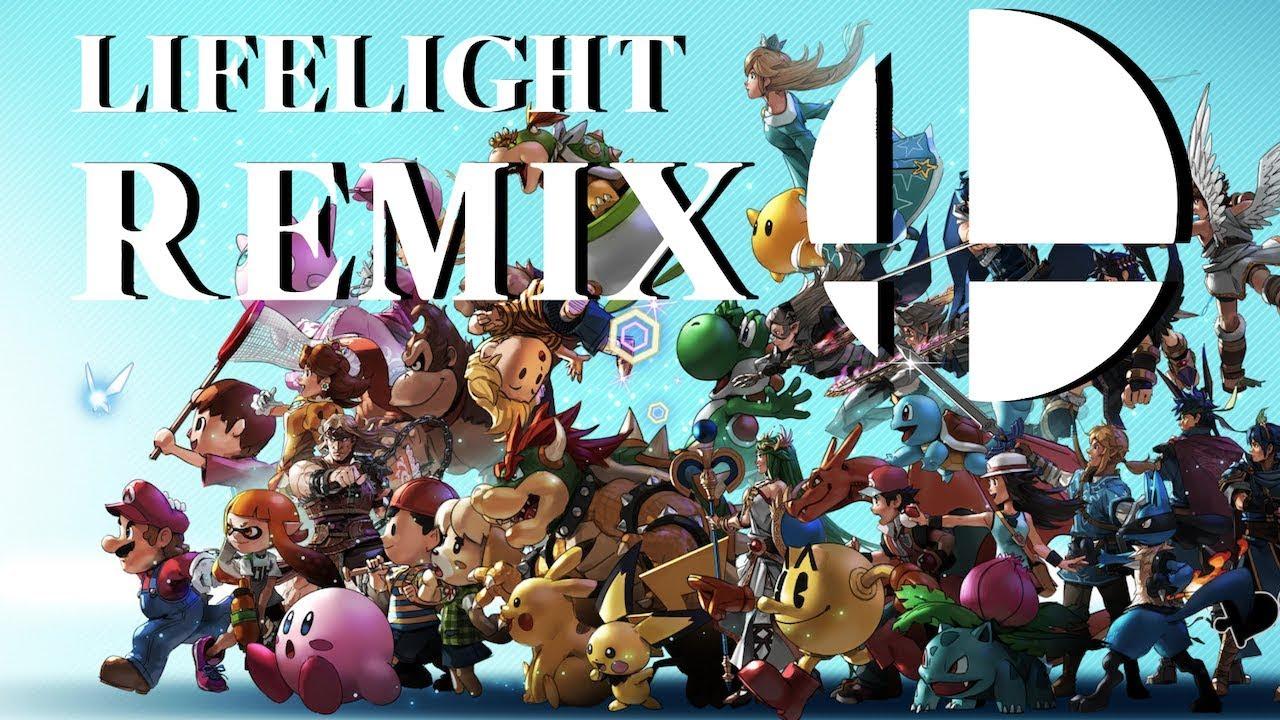 Super Smash Bros Ultimate Lifelight Remix Feat Slyleaf Youtube