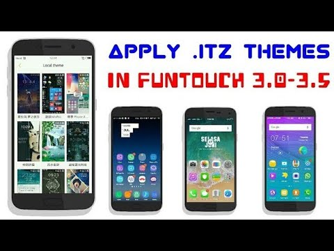 INSTALL  itz Themes in VIVO-Y53,Y55,Y69,V9,V7,V5   Funtouch OS 3 0