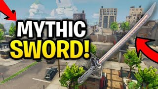 Rich Scammer Has *NEW* Mythic Sword! (Scammer Gets Scammed) Fortnite Save The World