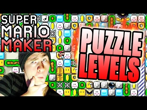 Super Mario Maker ~ SeanHip PUZZLE Levels [One Way Out, Claustrophobic]