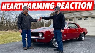 Surprising My Dad With A 1969 Camaro!!