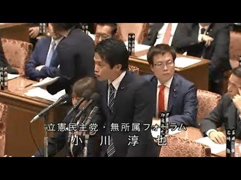 小川淳也 立憲民主党・無所属フォーラム 予算委員会 衆議院 2019 02 04