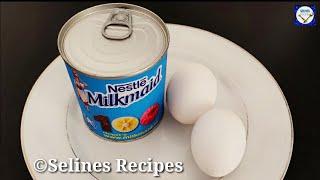 Condensed Milk Snack|Quick&Delicious Snacks during Lockdown| Evening Snack Recipes|Egg snack Recipes