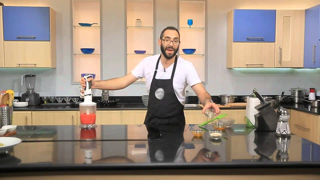 مكرونة اليواوليو - سوربيه التوت الاحمر بالمانجو : مطبخ 101 حلقة كاملة