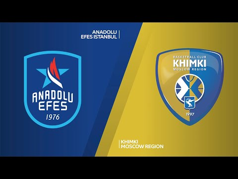 Anadolu Efes Istanbul - Khimki Moscow Region Highlights | Turkish Airlines EuroLeague RS Round 20