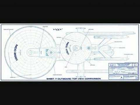 STAR TREK starship blueprints/schematics - YouTube