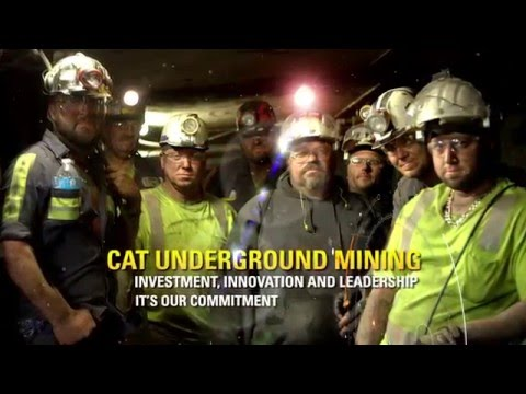 Cat Underground Mining Equipment