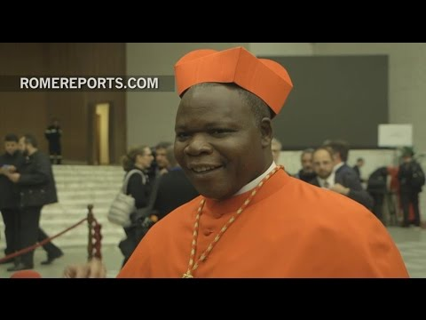 """First cardinal from the Central African Republic: """"We don"""