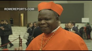 """First cardinal from the Central African Republic: """"We don't even have a word for 'cardinal'"""""""