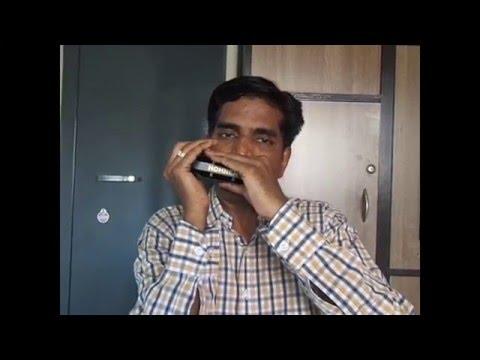 Ruk ja raat thahar ja re chanda played on Harmonica by Prashant Bhosle