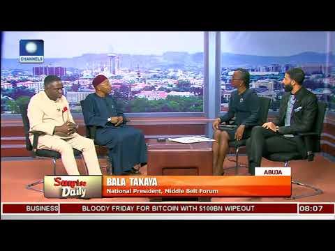 Nigerian Government Has Ignored Its Responsibilities - Bala Takaya |Sunrise Daily|