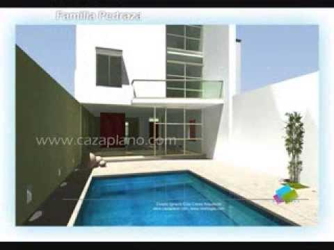 Planos de casas fachadas modernas y dise os de viviendas for Viviendas de campo modernas