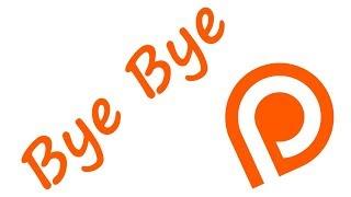 Bye Bye! Patreon