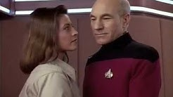 Picard and Vash Say Goodbye