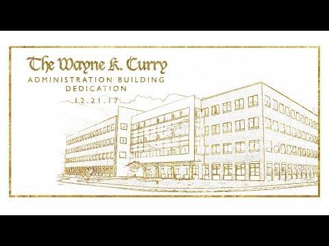Wayne K. Curry Administration Building Dedication