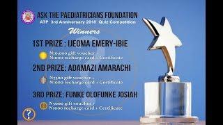Ask The Paediatricians Foundation 2018 QUIZ ROUND 2