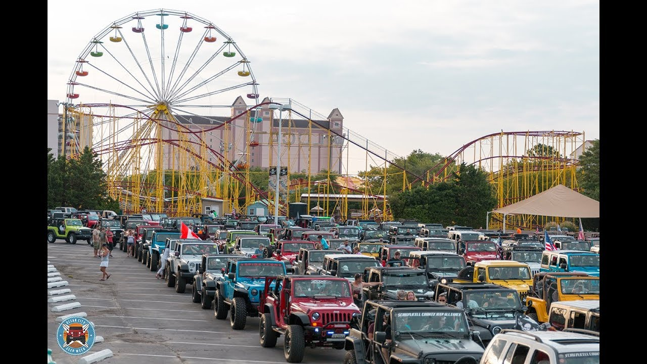 Ocean City Cruise Week 2020.Jeep Event Oc Jeep Week United States