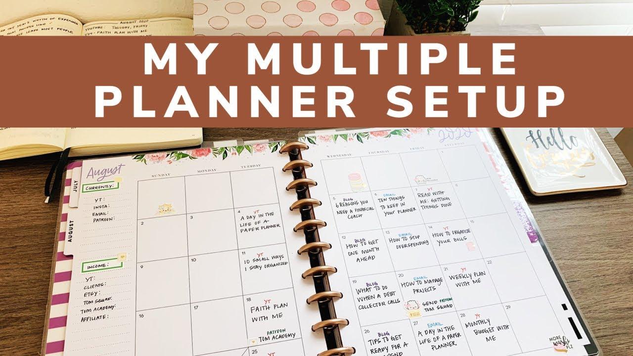 My Multiple Planner Setup