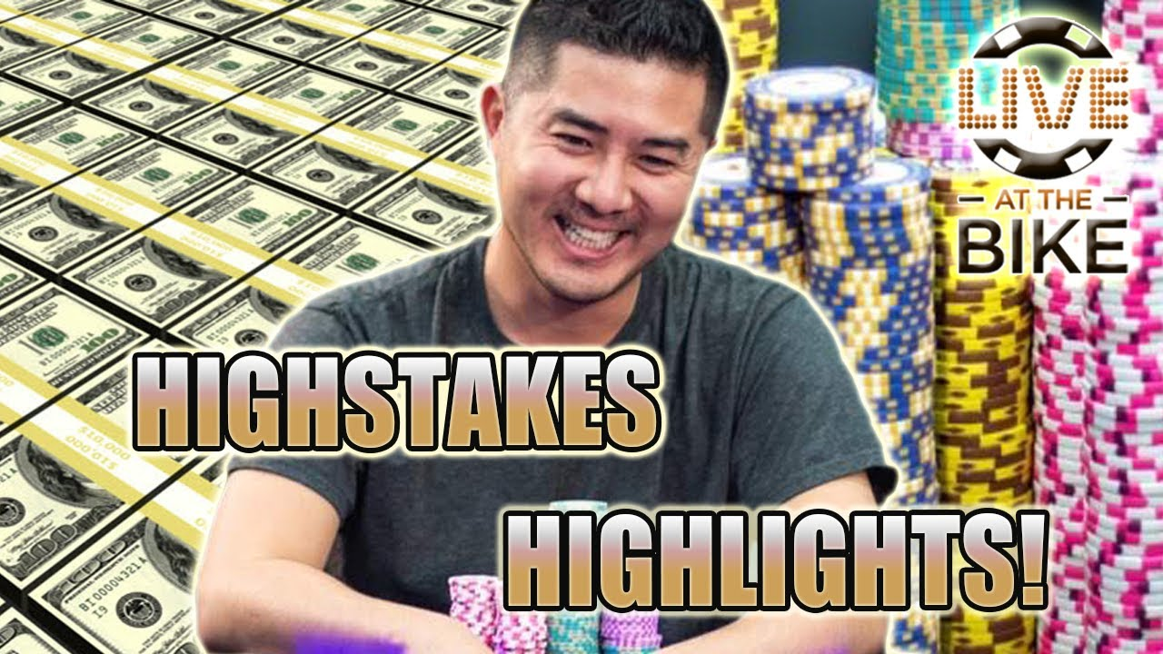 Andy's TOP HIGH STAKES Hands on LATB! ♠ Live at the Bike!