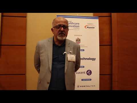 Marlon Oneid of Portal 724 Interview at the Annual GCC Healthcare Innovation Congress