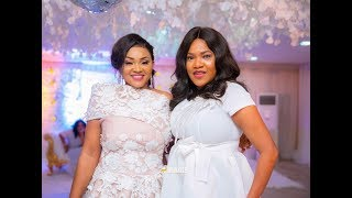 TOYIN ABRAHAM FAITHIA WILLIAMS IYABO OJO SAIDI BALOGUN AT MERCY AIGBES 40TH BIRTHDAY PARTY