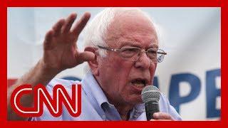 Bernie Sanders makes Trump-like attack on Washington Post